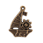 Sail Boat Charm - Set of 12