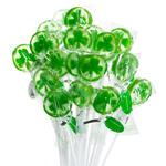 Shamrock Lollipop Favor - 10 pcs
