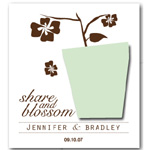 Share and Blossom Plantable Seed Favors