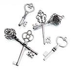 Silver Keys - Set of 24