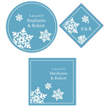 Snowflake Personalized Labels - 20 pcs