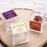 Falling in Love Personalized Acrylic Favor Box