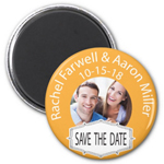 Chosen Day Save the Date Magnets - 20 pcs