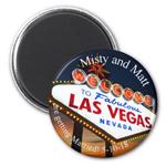 Vegas Save The Date Magnet - 20 pcs