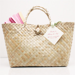 Palm Leaf Handle Bags