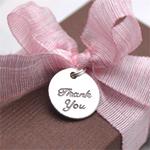 Thank You Favor Charms - 20 pcs