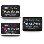 The Perfect Match Arrow Personalized Matchboxes - 50 pieces
