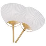 White Paddle Fan Favor