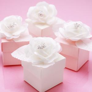 Flower Wedding Favor Boxes