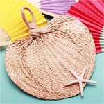 Palm and Bamboo Hand Fans