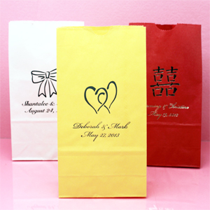 Personalized Goodie Favor Bags