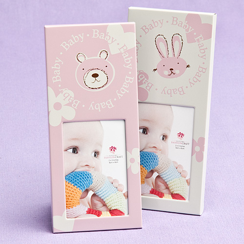 girl themed frames baby place card holders and frames baby shower