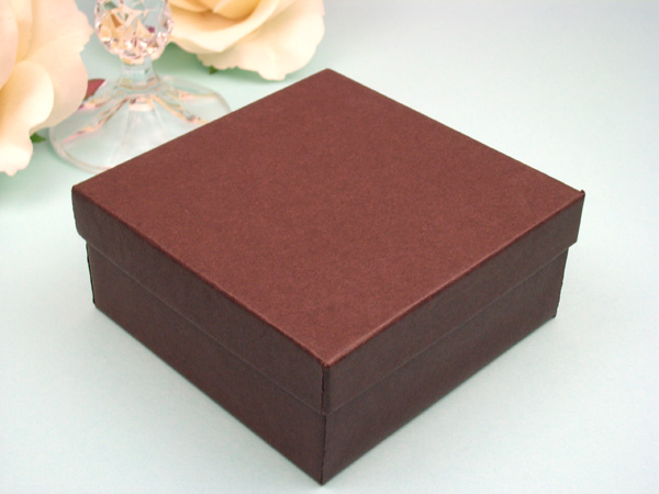 Michaels Brown Favor Boxes : Brown wedding favor box boxes