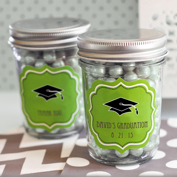 """Hats off to You"" Graduation Mini Mason Jars - Graduation ..."