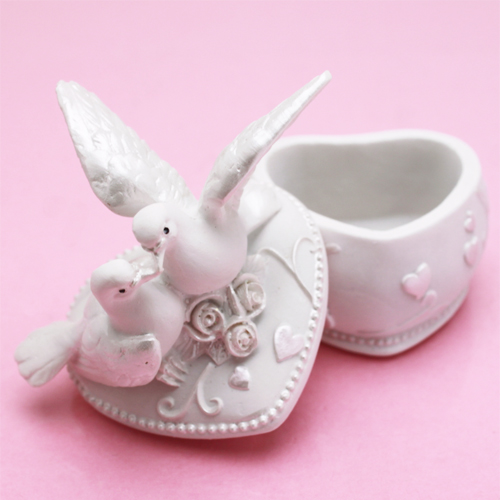 Lovebirds Jewelry Box