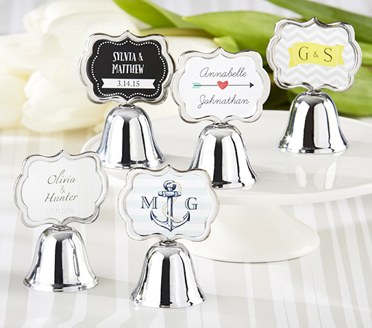 Personalized Bell Wedding Favors