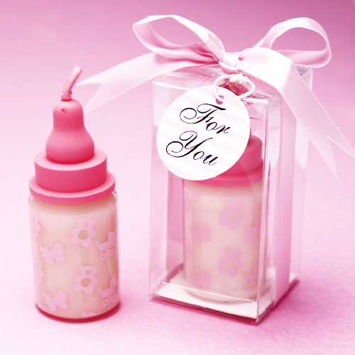 baby bottle candle favors baby shower candles baby shower favors
