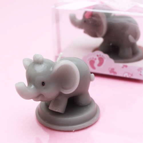 elephant candle favors baby shower candles baby shower favors