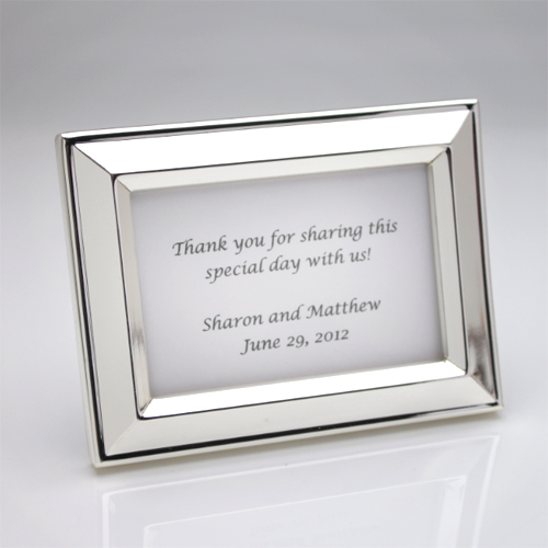 Beveled Silverplated Place Frame
