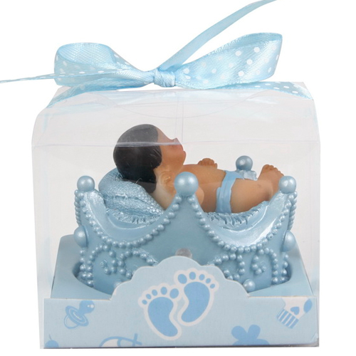Blue Crown Themed Baby Shower Favor Baby Shower Favors