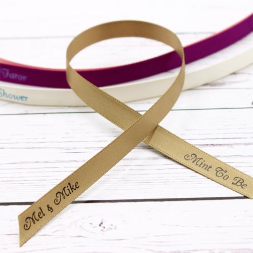 12 inch Satin Narrow Ribbon