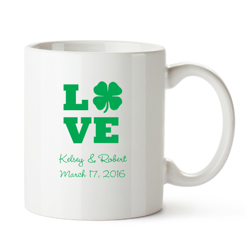 Personalized Wedding Favor Coffee Mugs : Personalized Irish Coffee MugsIrish Wedding Theme FavorsWedding ...