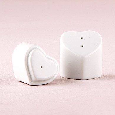Heart Shaped Salt and Pepper Shaker