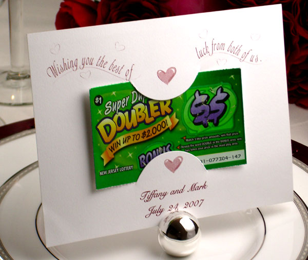 Lottery Tickets As Wedding Favors Image collections - Wedding ...