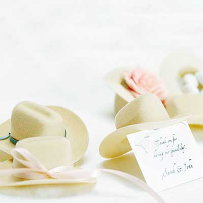 Mini Cowboy Hat Favor