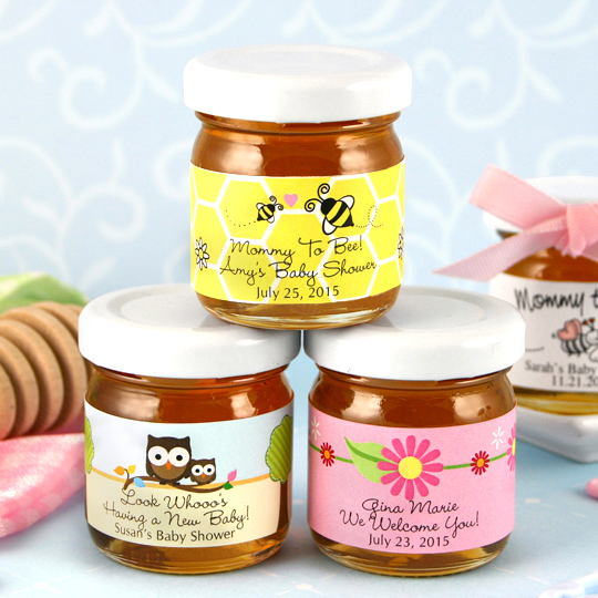 Personalized Baby Shower Honey Favor Baby Shower Favors