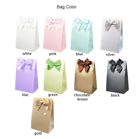 Personalized Wedding Favor Bags And Boxes : Personalized Wedding Favor Bags - 12 pcs