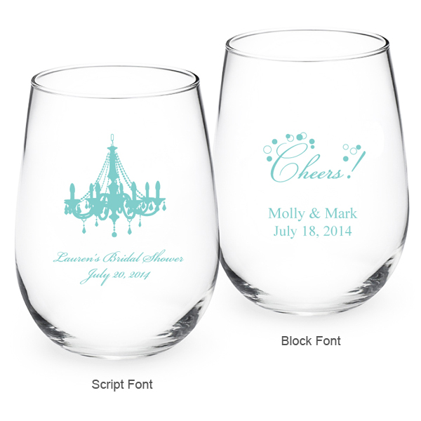 cheap personalized wine glasses wedding favors choice image