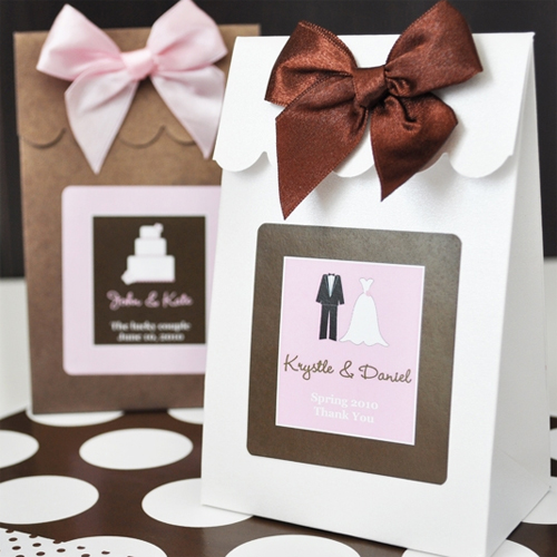:: Favor Packaging :: Favor Bags :: Personalized Wedding Favor Bags ...