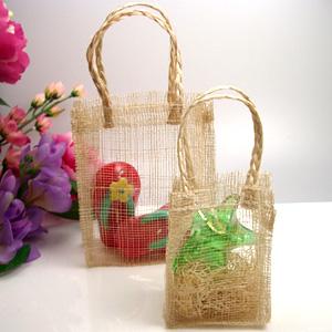 Sinamay Favor Bags-Large - 10 pcs