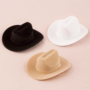 Mini Cowboy Hat Favor - 12 pcs