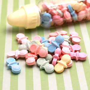 Pacifier Shaped Candy Mints - 12 oz
