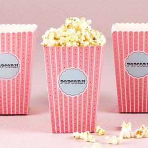 Popcorn Boxes - 12 pcs