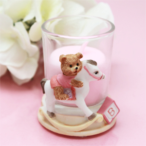 Rocking Horse Candle Holder Favor