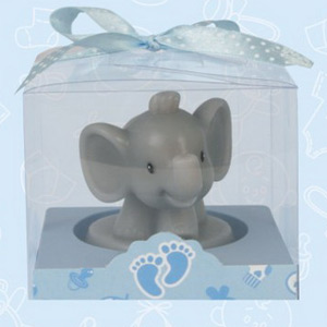 boy safari elephant candle baby shower candles baby shower favors