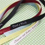 12 inch Satin Narrow Ribbon