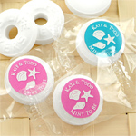 Beach Silhouette Personalized Life Savers Mints