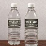 Bistro Bliss Water Bottle Label