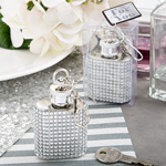 Bling Collection Flask Key Chains