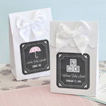 Chalkboard Baby Shower Sweet Shoppe Candy Boxes - Set of 12