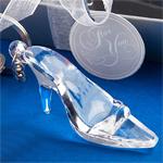 Cinderella Glass Slipper Keychain Favor