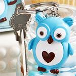 Blue Owl Key Chain Favors