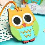Cute and Practical Owl Design Luggage Tags