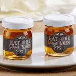 Eat, Drink & Be Married Personalized Clover Honey (Set of 12)