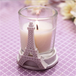 Eiffel Tower Candle Favor