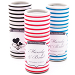 Elegant Stripes Personalized Barrel Matches
